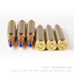 20 Rounds of 30-06 Springfield Ammo by Barnes - 150gr TTSX