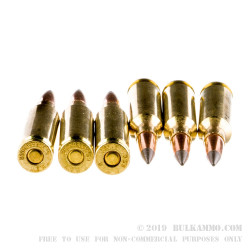 200 Rounds of 6.5 mm Creedmoor Ammo by Winchester Deer Season XP - 125gr Polymer Tipped
