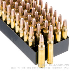 1000 Rounds of .223 Ammo by Fiocchi - 45 gr Frangible