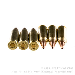 200 Rounds of .223 Ammo by Hornady - 75gr HPBT Match