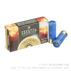 250 Rounds of 12ga Ammo by Federal LE Tactical - 1 ounce Low Recoil HP Rifled Slug