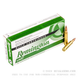 200 Rounds of .223 Ammo by Remington - 62gr CTFB
