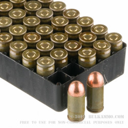1000 Rounds of 9x18mm Makarov Ammo by Brown Bear - 94gr FMJ