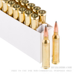 20 Rounds of 7mm Rem Mag Ammo by Prvi Partizan - 140gr PSP