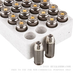 20 Rounds of .40 S&W Ammo by Browning - 180gr JHP