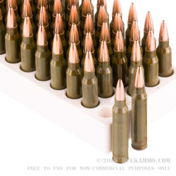 500 Rounds of .223 Ammo by Hornady Steel Match - 75gr HP