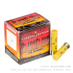 "25 Rounds of 20ga 3"" Ammo by Federal BlackCloud - 1 ounce #2 Shot"