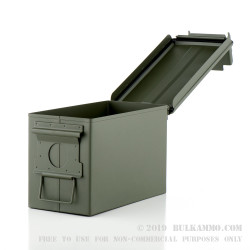 1 Brand New 50 Cal M2A1 Green Ammo Can