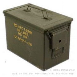1 Surplus SAW Ammo Can - Green