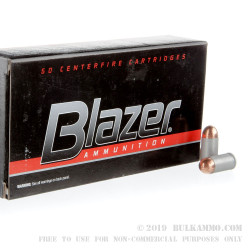1000 Rounds of 9x18mm Makarov Ammo by Blazer - 95gr FMJ