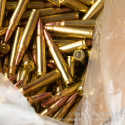 1000 Rounds of .223 Ammo by Remington - 55gr MC Bulk Pack