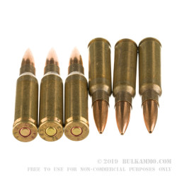 50 Rounds of 7.62x51 NATO Ammo by Lake City (XM118 Long Range) - 175gr HPBT