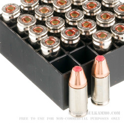 250 Rounds of 9mm Ammo by Hornady Critical Duty - 135gr JHP +P