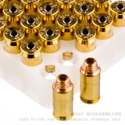 50 Rounds of .45 ACP Ammo by Federal Gold Medal Match - 185gr FMJSWC