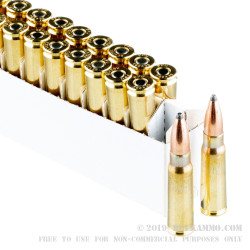 20 Rounds of 7.62x39mm Ammo by Prvi Partizan - 123gr PSP