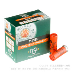 250 Rounds of 12ga Ammo by NobelSport - 1 1/8 ounce #7 1/2 shot
