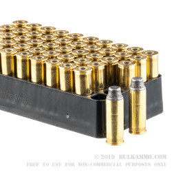 50 Rounds of .45 Long-Colt Ammo by Remington Performance WheelGun - 225gr LSWC