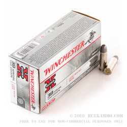 50 Rounds of .38 Spl Ammo by Winchester - 158gr LRN