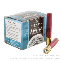 25 Rounds of .410 Ammo by Federal -  #4 shot