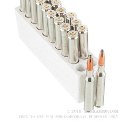 20 Rounds of .270 Win Ammo by Winchester 150yr Commemorative - 150gr Power Point