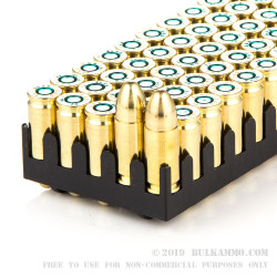 50 Rounds of 9mm Ammo by Sellier & Bellot Police - 115gr FMJ