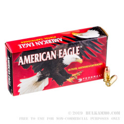 1000 Rounds of .380 ACP Ammo by Federal - 95gr FMJ