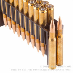 20 Rounds of 30-06 Springfield Ammo by Fiocchi Shooting Dynamics - 150gr FMJ-BT