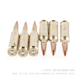 20 Rounds of 6.5mm Creedmoor Ammo by Hornady Precision Hunter - 143gr ELD-X