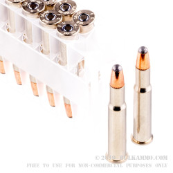 20 Rounds of 30-30 Win Ammo by Federal - 170gr Nosler Partition