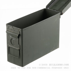1 Surplus Mil-Spec 30 Cal M19 Green Ammo Can