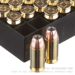 1000 Rounds of .45 ACP Ammo by Fiocchi - 200gr JHP