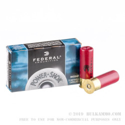 250 Rounds of 12ga Ammo by Federal -  #4 Buck