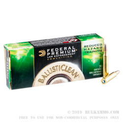 20 Rounds of .223 Ammo by Federal - 42 gr Frangible