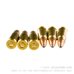 600 Rounds of 7.62x39mm Ammo by Sellier & Bellot - 124gr SP