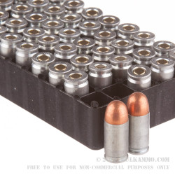 50 Rounds of .380 ACP Ammo by Silver Bear - 94gr FMJ