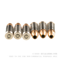 50 Rounds of 9mm +P Ammo by Remington Golden Saber Bonded - 124gr BJHP