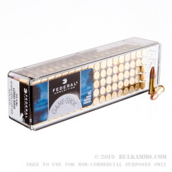 100 Rounds of .22 LR Ammo by Federal Game-Shok - 40gr CPRN