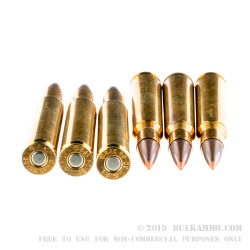 20 Rounds of 30-06 Springfield Ammo by Fiocchi - 150gr SST