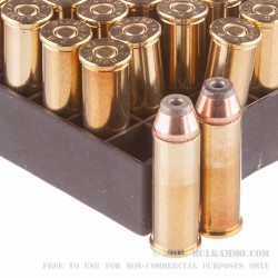 500 Rounds of .44 Mag Ammo by PMC - 180gr JHP