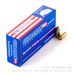 250 Rounds of .45 ACP Ammo by Ultramax - 230gr LRN