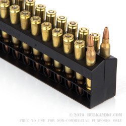 20 Rounds of .223 Ammo by Remington - 50gr JHP