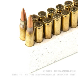 200 Rounds of .308 Win Ammo by Armscor - 147gr FMJ
