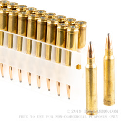 20 Rounds of .300 Win Mag Ammo by Federal - 180gr SP