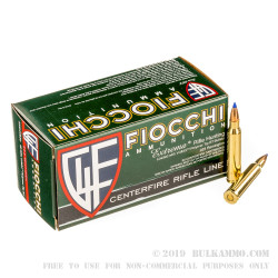 50 Rounds of .223 Ammo by Fiocchi - 40gr V-MAX