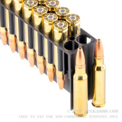 20 Rounds of .308 Win Ammo by Fiocchi - 165gr Game King HPBT