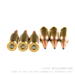 20 Rounds of .224 Valkyrie Ammo by Federal Fusion MSR - 90gr SP