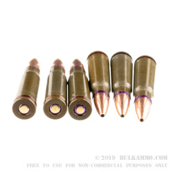 1000 Rounds of 7.62x39mm Ammo by Red Army Standard - 124gr BTHP