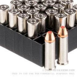 25 Rounds of .38 Spl Ammo by Hornady - 110gr JHP