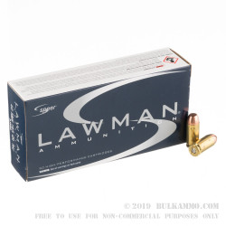 1000 Rounds of .40 S&W Ammo by Speer - 165gr TMJ
