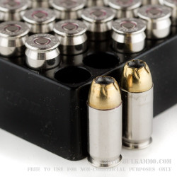 25 Rounds of .45 ACP Ammo by Remington Golden Saber - 185gr JHP +P